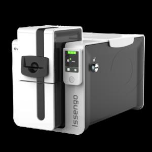 Evolis Issengo compacta y segura para emisión de tarjetas bancarias