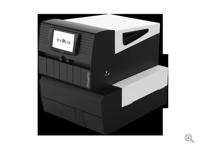 Privelio XT Impresora para la emisión de tarjetas bancarias embozadas